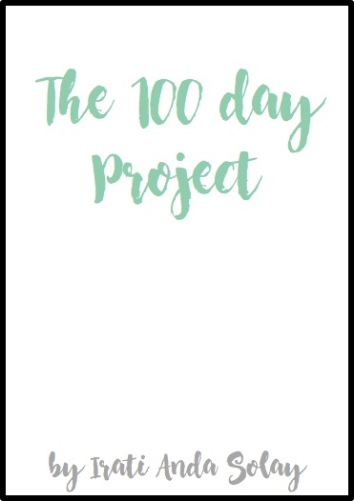 The 100 day project by Irati Anda Solay